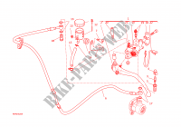 BOMBA MANDO EMBRAGUE para Ducati Monster 1200 S 2016