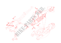 SUSPENSION TRASERA para Ducati Multistrada 1200 ABS 2011