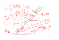 CABALLETE LATERAL para Ducati Monster 1200 S 2015
