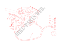 BOMBA MANDO EMBRAGUE para Ducati Monster 696 2011