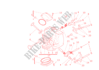 CULATA HORIZONTAL para Ducati Monster 696 2011
