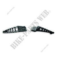 KIT ESTRIBOS APOYA PIES RACING  - DVL-Ducati-Accessorios Diavel